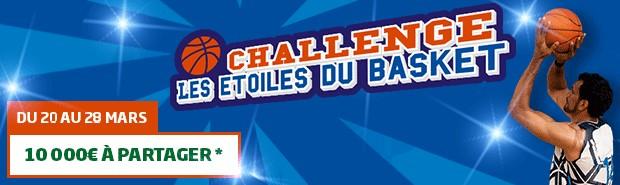 Le challenge les étoiles du basket sur PMU Sport