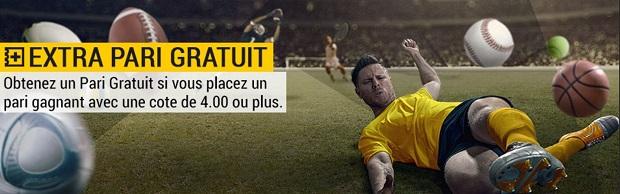 Bonus de paris gratuits pour Atletico/Barcelone et Manchester/PSG sur Bwin