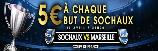 Sochaux - Marseille en Coupe de France sur Netbet