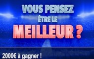 Pariez sur le football avec France Pari : 2000€ à partager du 19 avril au 1er mai lors du challenge Pronos