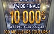 Quarts de finale de la Ligue des Champions et de l'Europa League sur ParionsWeb : 10.000€ à partager