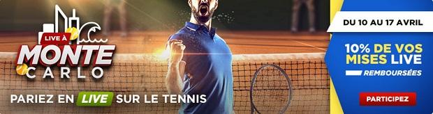 betclic tennis tournoi monte carlo 2016