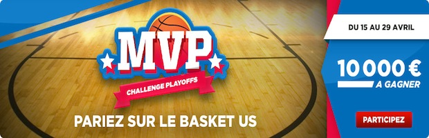 Playoffs 1er tour NBA sur Betclic