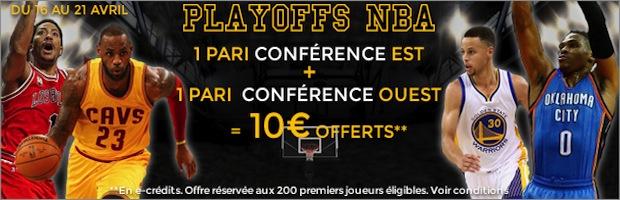 ParionsWeb NBA Playoffs 1er tour