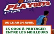 PMU met 15.000€ en jeu pour le 1er tour des playoffs de NBA du 16 au 24 avril 2016