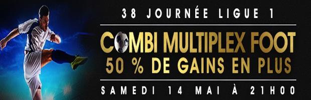Multiplex Ligue 1 sur Netbet.fr : jusqu'à 200 euros offerts sur vos combinés