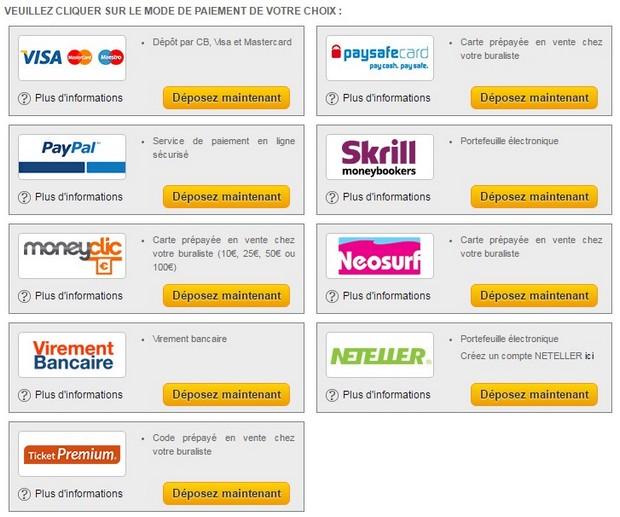 Pensez à vous inscrire sur NetBet