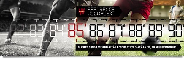 Winamax vous offre une Assurance Multiplex sur la Ligue 1 de 100 euros
