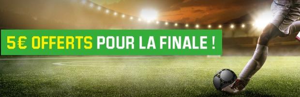 Finale Europa League : 5€ offerts avec Unibet