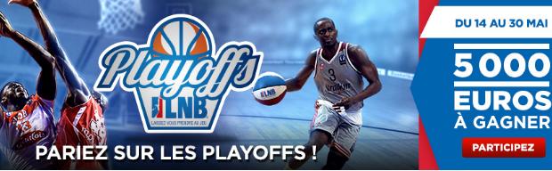 Playoffs basket Pro A : 5.000€ sur Betclic en mai