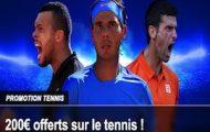 France Pari booste vos combinés durant Roland-Garros : jusqu'à 200€ offerts du 22 mai au 5 juin 2016