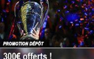 Pariez sur France Pari du 23 mai au 10 juin 2016 : Vos dépôts peuvent vous rapporter jusqu'à 300€