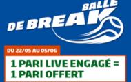 Pariez en Live sur Roland-Garros avec PMU Sport : 5€ offerts chaque jour du 22 mai au 5 juin 2016