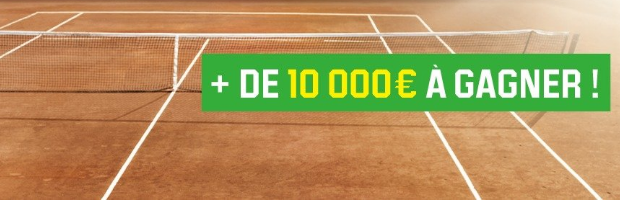 Roland Garros 2016 avec Unibet