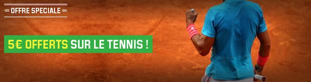 Tournoi ATP/WTA de Madrid sur Unibet : 5€ à gagner
