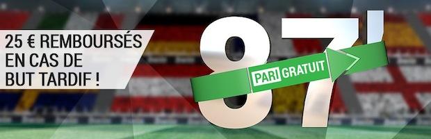"""Pariez sur l'Euro 2016 de football sur Bwin.fr avec la promotion """"But Tardif"""""""