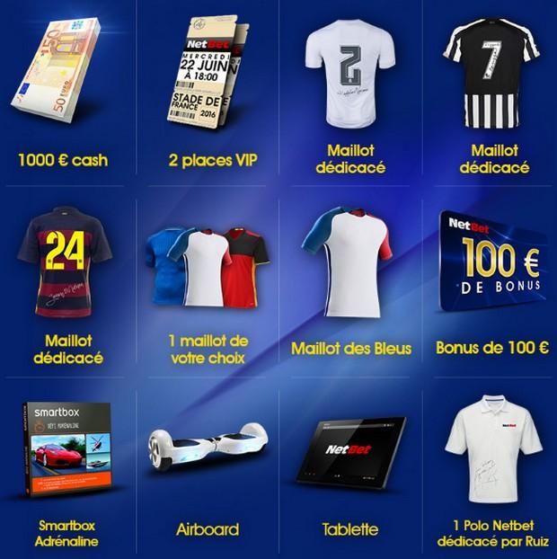 Euro 2016 KDO netbet