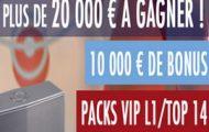 Challenge Euro 2016 sur JOA : 20.000€ en jeu dont des packs Ligue 1 / Top 14 et de nombreux autres lots