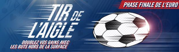 Pendant l'Euro 2016, participez au challenge Tir de l'Aigle avec Winamax.fr