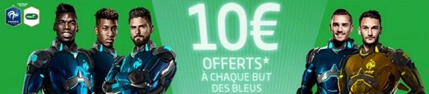Jusqu'à 30€ de bonus avec PMU si la France marque à l'Euro