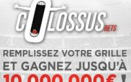 Découvrez les grilles foot de Betclic : Pronostiquez de 3 à 15 résultats et remportez jusqu'à 10.000.000€