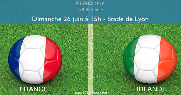 Notre pronostic du match France-Irlande en 1/8 de l'Euro 2016
