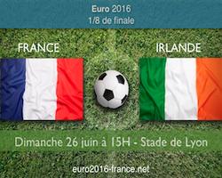 Notre pronostic de France-Irlande à l'Euro 2016
