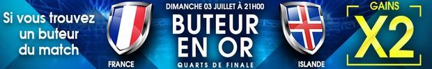 NetBet 1/4 de finale de l'Euro 2016 France/Islande