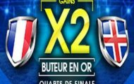 Pariez sur le 1/4 de finale de l'Euro France-Islande avec NetBet : Gains doublés si vous trouvez un des buteurs