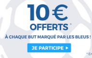 Misez sur France/Islande à l'Euro 2016 avec ParionsSport : remportez 10€ à chaque but des Bleus