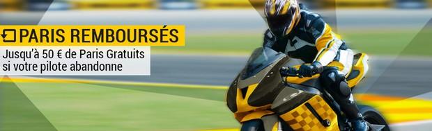 Paris Remboursés sur Bwin.fr durant toute la saison de Moto GP