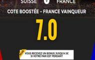 Offre nouveaux inscrits pour Suisse-France sur NetBet : Profitez d'une cote boostée pour parier sur le match