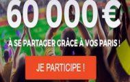 Challenge Euro 2016 sur Parions Sport (ParionsWeb) : 60.000€ mis en jeu sur l'ensemble de la compétition
