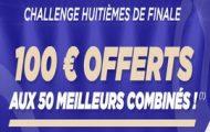 Challenge ParionsSport pour les 1/8 de finale de l'Euro 2016 : 5.000€ en jeu pour les 50 meilleurs combinés
