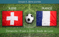 Notre pronostic pour Suisse-France : Dernier match des Bleus dans le Groupe A de l'Euro 2016 dimanche 19 juin