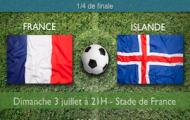 Notre pronostic pour France-Islande, quart de finale de l'Euro 2016 - le dimanche 3 juillet au Stade de France