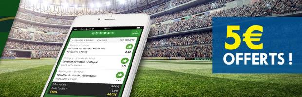 Pariez en combiné sur l'Euro 2016 avec Unibet.fr