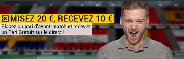 France-Portugal en finale de l'euro sur Bwin.fr