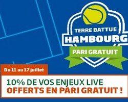 Tournoi de tennis d'Hambourg avec PMU