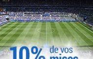 France Pari vous rembourse 10% de vos mises sur le football du 13 au 28 juillet 2016