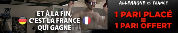 5€ à gagner sur Betclic pour Allemagne-France