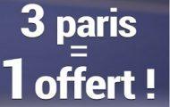 Offre spéciale tournoi de tennis de Toronto sur France Pari : 3 paris engagés = 1 pari offert du 25 au 31 juillet