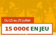 """""""Paris à la plage"""" du 15 au 25 juillet sur PMU : Pariez depuis votre mobile et remportez une part des 15.000€"""