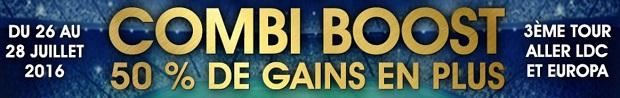 Boostez vos gains avec vos paris combinés foot européen sur NetBet