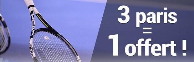 Gagnez 5 € par jour avec France pari pour le tournoi de Toronto de tennis