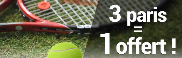 Pendant Wimbledon, pariez sur France-pari.fr