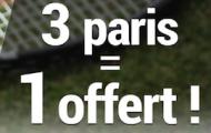 Misez sur Wimbledon du 27 juin au 10 juillet avec France pari : 3 paris placés par jour = 5€ offerts