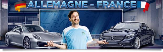 Winamax met en jeu une voiture à l'occasion de France-Allemagne