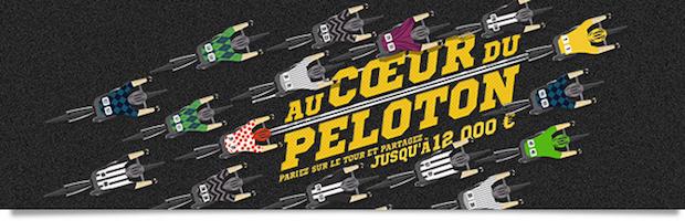 Winamax met en jeu 12.000€ de bonus à partager avec la promotion Au coeur du Peloto