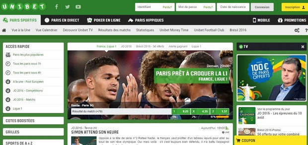Ouvrez votre compte sur Unibet.fr